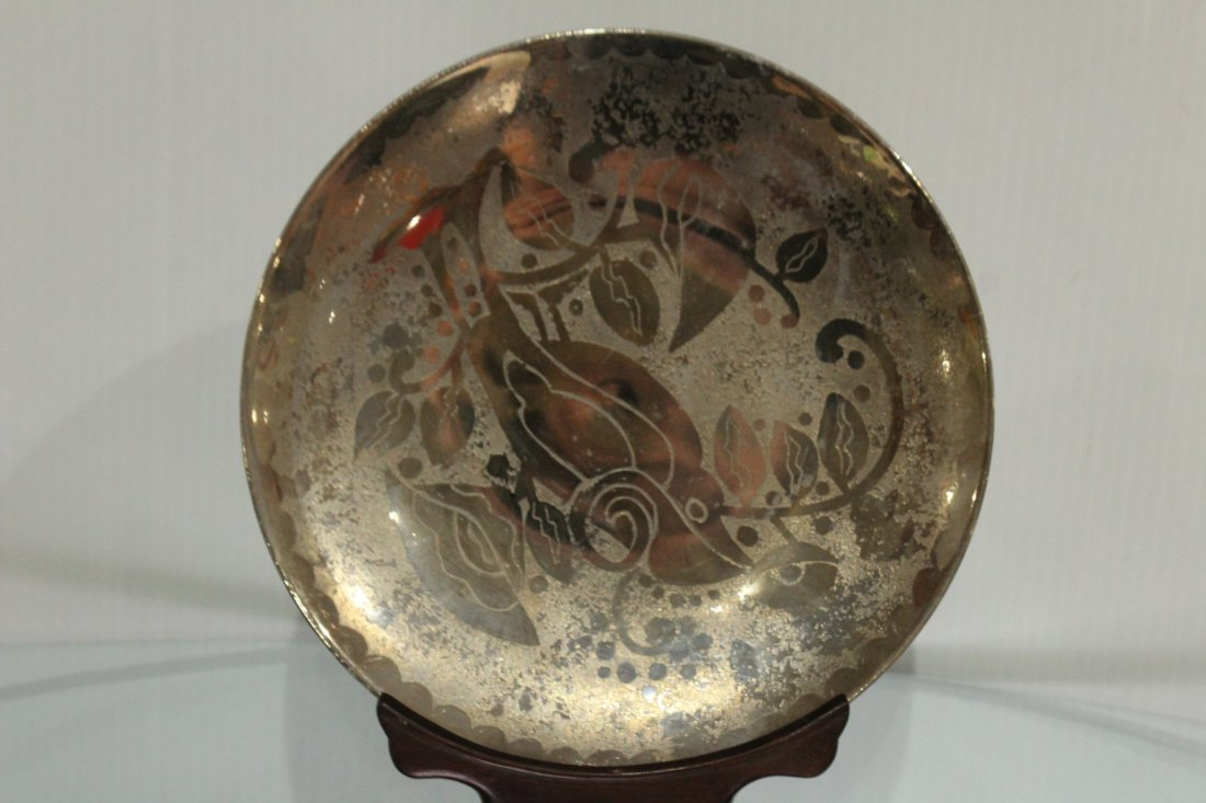 Six [6] PMR BAVARIA Jaeger & Co. Mid-Century Plates - 4
