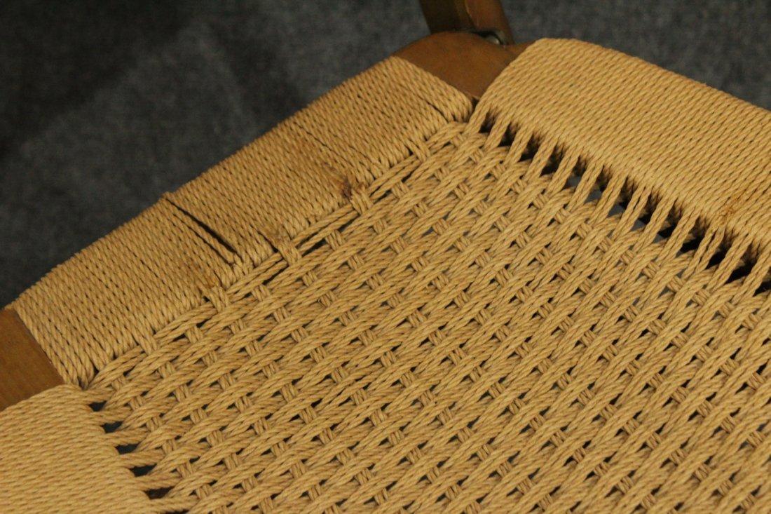 Four [4] HANS WEGNER Style Folding BRIDGE CHAIRS - 4