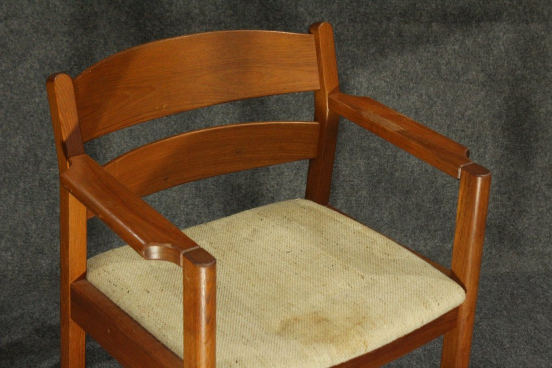 MOBLER DENMARK Teak Wood Danish Modern Arm Chair - 2