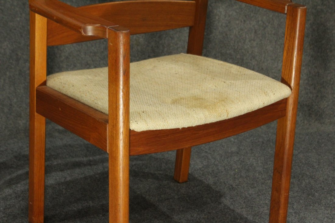 MOBLER DENMARK Teak Wood Danish Modern Arm Chair - 3