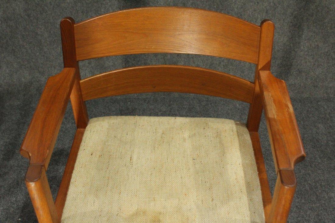 MOBLER DENMARK Teak Wood Danish Modern Arm Chair - 4