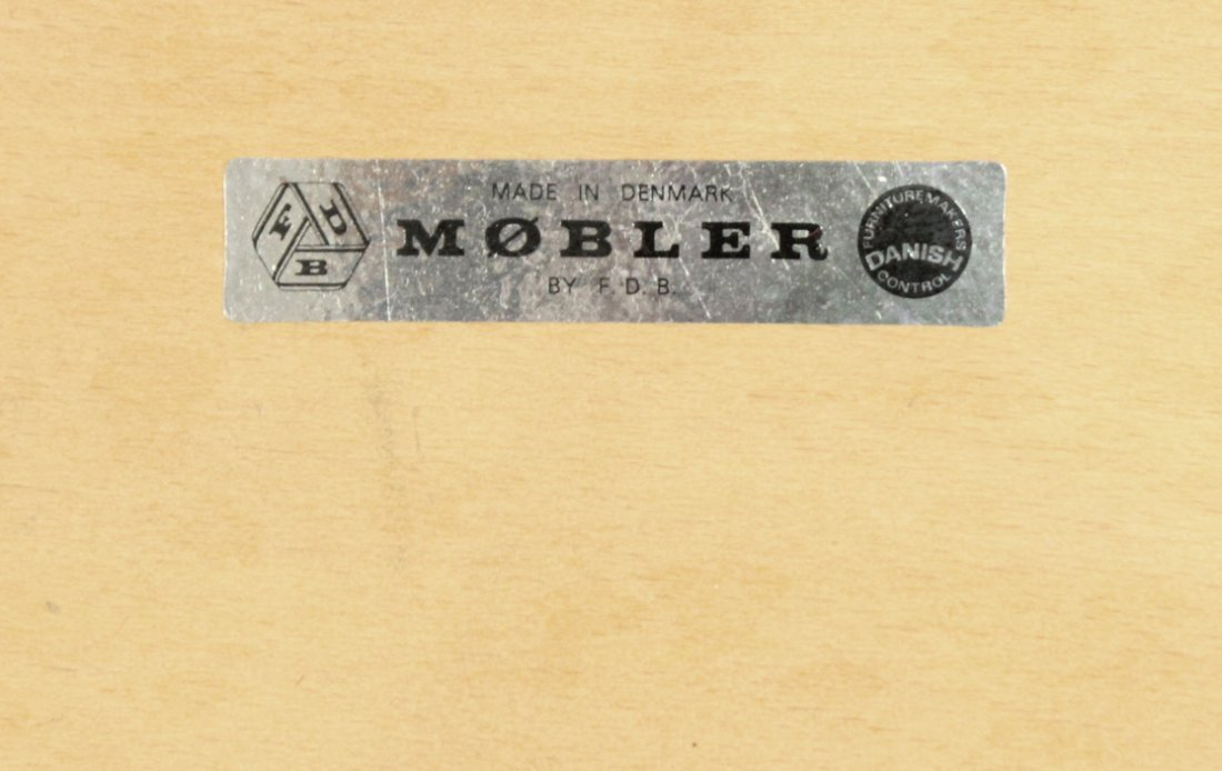 MOBLER DENMARK Teak Wood Danish Modern Arm Chair - 6