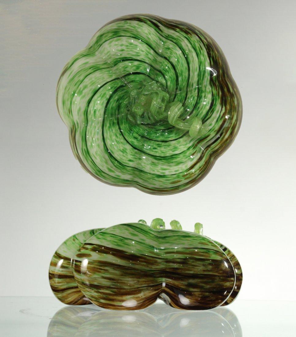 MURANO Italian Art Glass PUMPKIN SCULPTURE