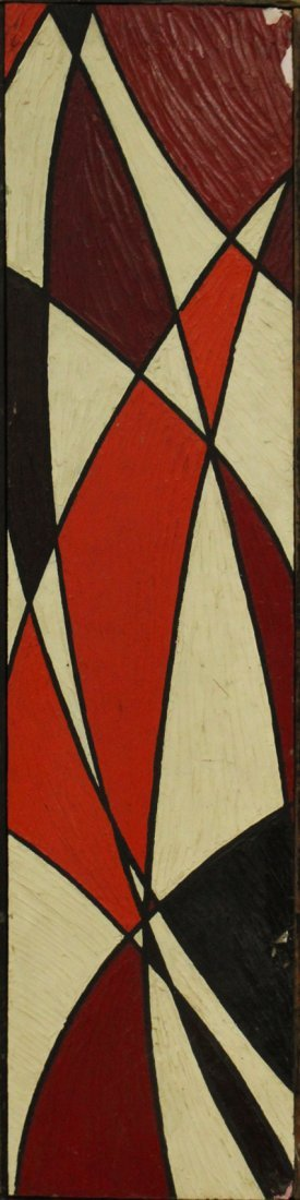 PHILIP J DAHLINGER; Mid-Century ABSTRACT OIL Exhibition
