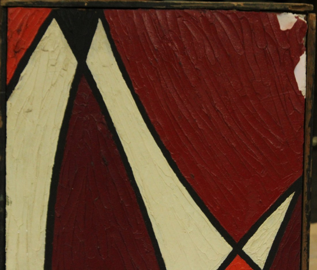 PHILIP J DAHLINGER; Mid-Century ABSTRACT OIL Exhibition - 2