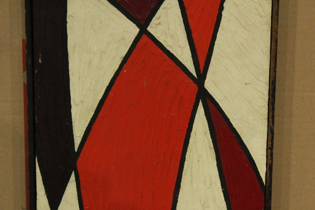 PHILIP J DAHLINGER; Mid-Century ABSTRACT OIL Exhibition - 3
