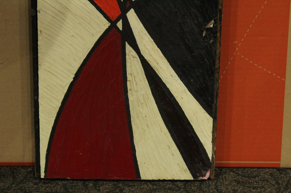 PHILIP J DAHLINGER; Mid-Century ABSTRACT OIL Exhibition - 4