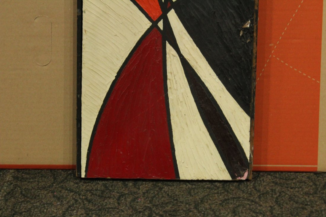 PHILIP J DAHLINGER; Mid-Century ABSTRACT OIL Exhibition - 5