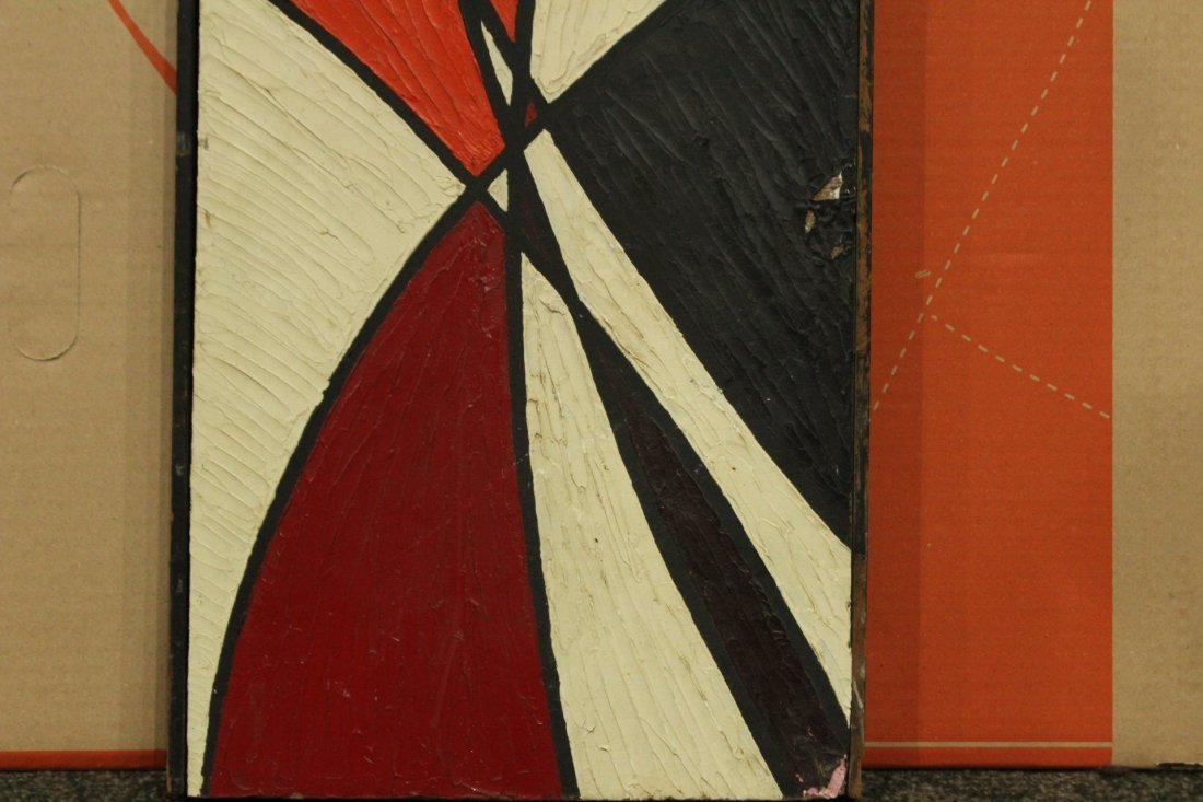 PHILIP J DAHLINGER; Mid-Century ABSTRACT OIL Exhibition - 6