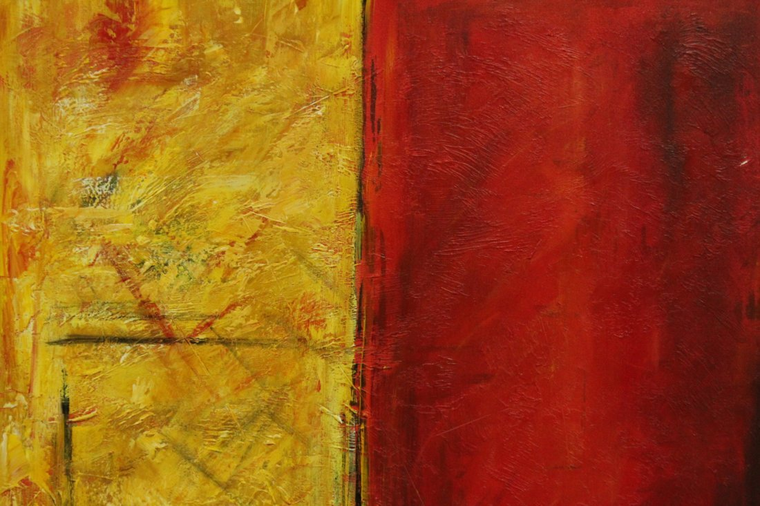 MAX, Artists Guild of America MODERNISM ABSTRACT Signed - 2