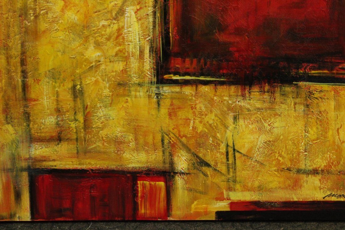 MAX, Artists Guild of America MODERNISM ABSTRACT Signed - 3