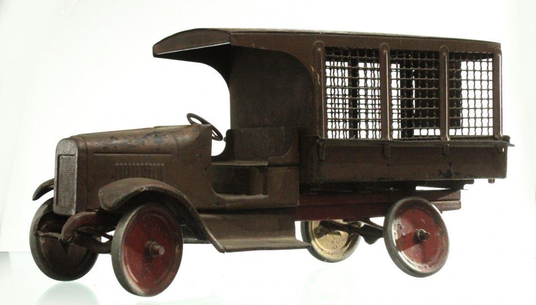 Circa 1920s BUDDY L EXPRESS TRUCK - PRESSED STEEL