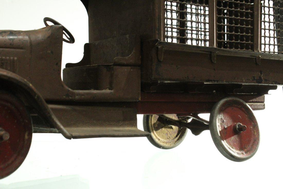 Circa 1920s BUDDY L EXPRESS TRUCK - PRESSED STEEL - 3