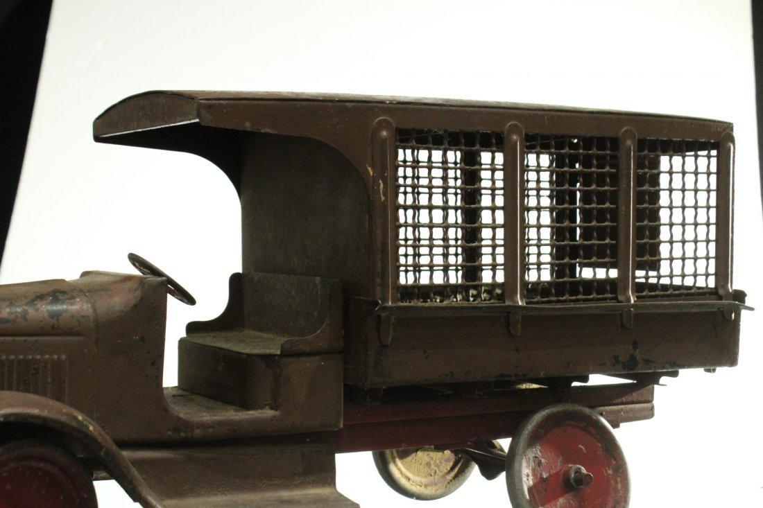 Circa 1920s BUDDY L EXPRESS TRUCK - PRESSED STEEL - 4