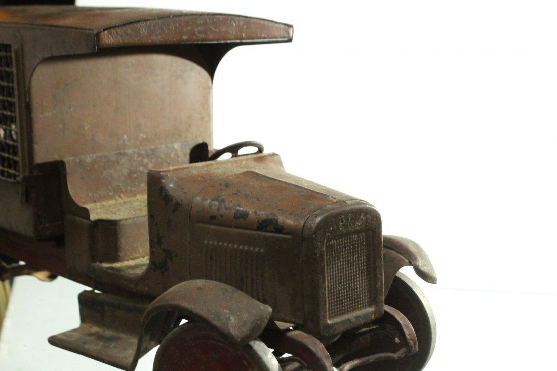 Circa 1920s BUDDY L EXPRESS TRUCK - PRESSED STEEL - 5