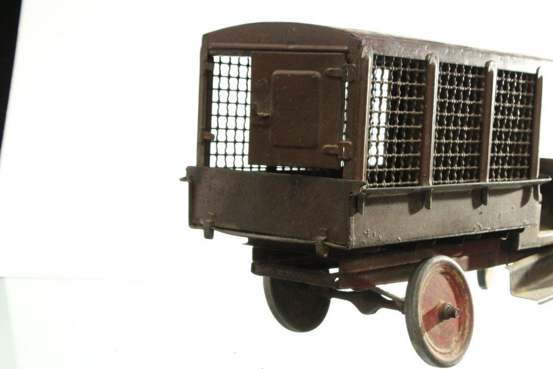 Circa 1920s BUDDY L EXPRESS TRUCK - PRESSED STEEL - 7