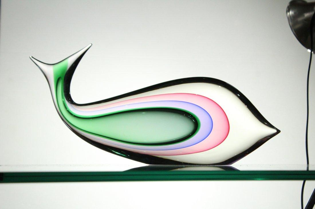 LUIGI ONESTO MURANO ITALY GLASS FISH - Internal Decor - 5