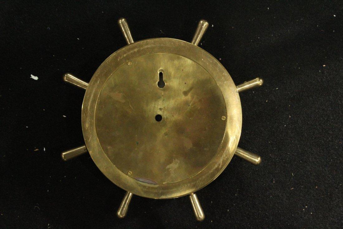 Modern Design Brass Ships Wall Clock - Quartz - 4