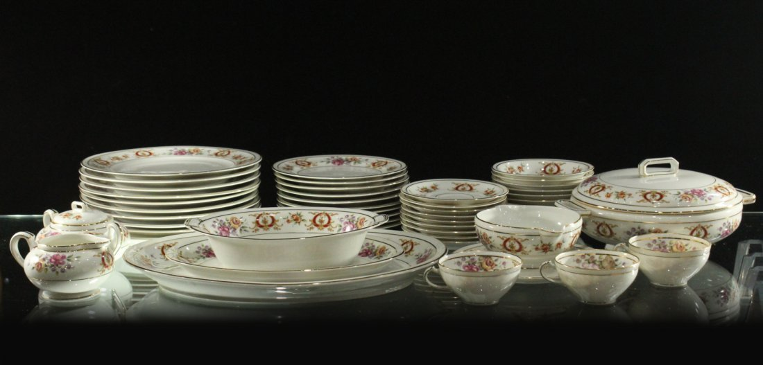 France Charles Ahrenfeldl Limoges Dinner set