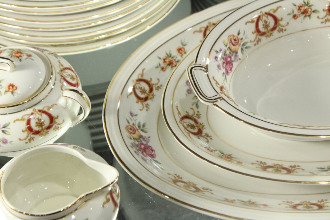 France Charles Ahrenfeldl Limoges Dinner set - 3