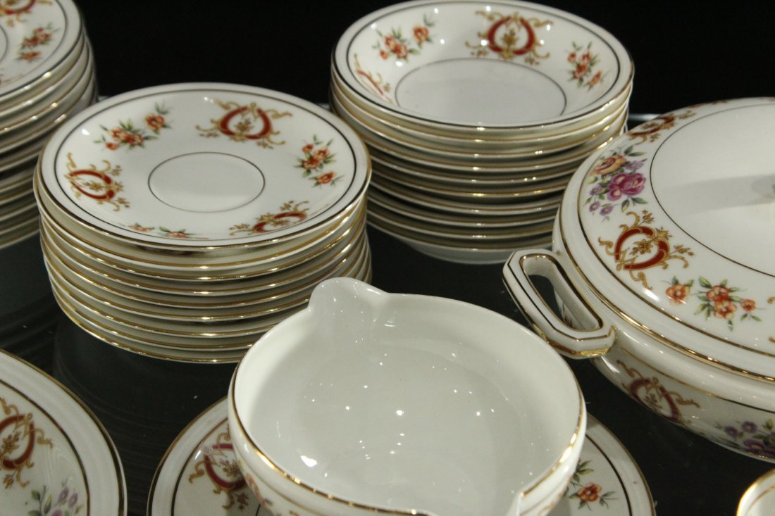 France Charles Ahrenfeldl Limoges Dinner set - 4