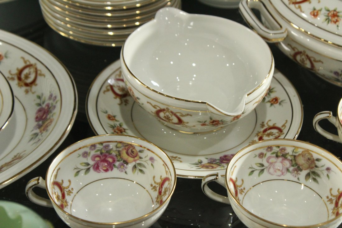 France Charles Ahrenfeldl Limoges Dinner set - 5