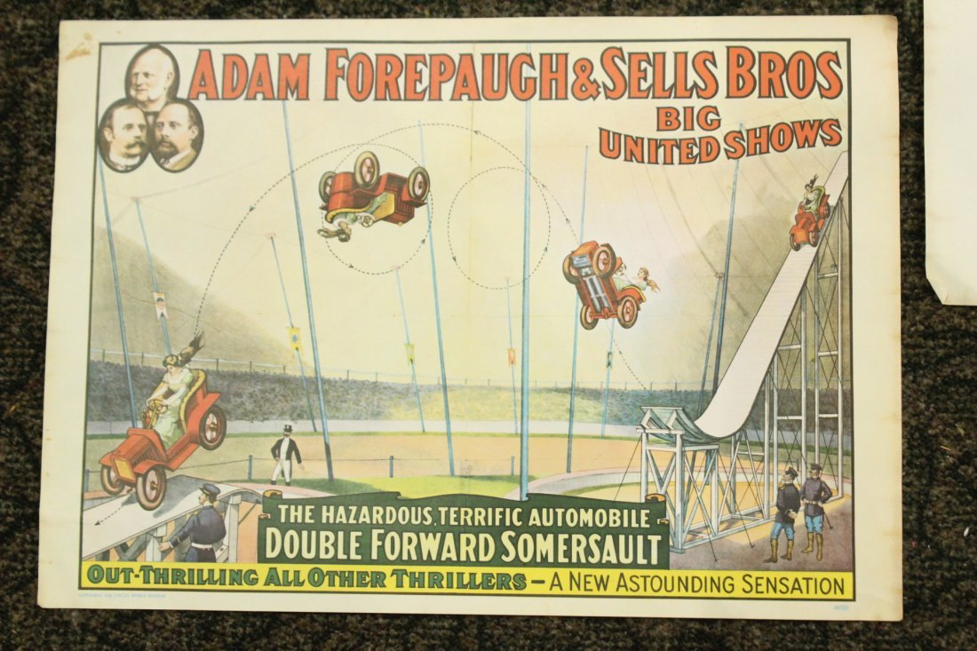 Collection of 4 vintage circus posters - 2
