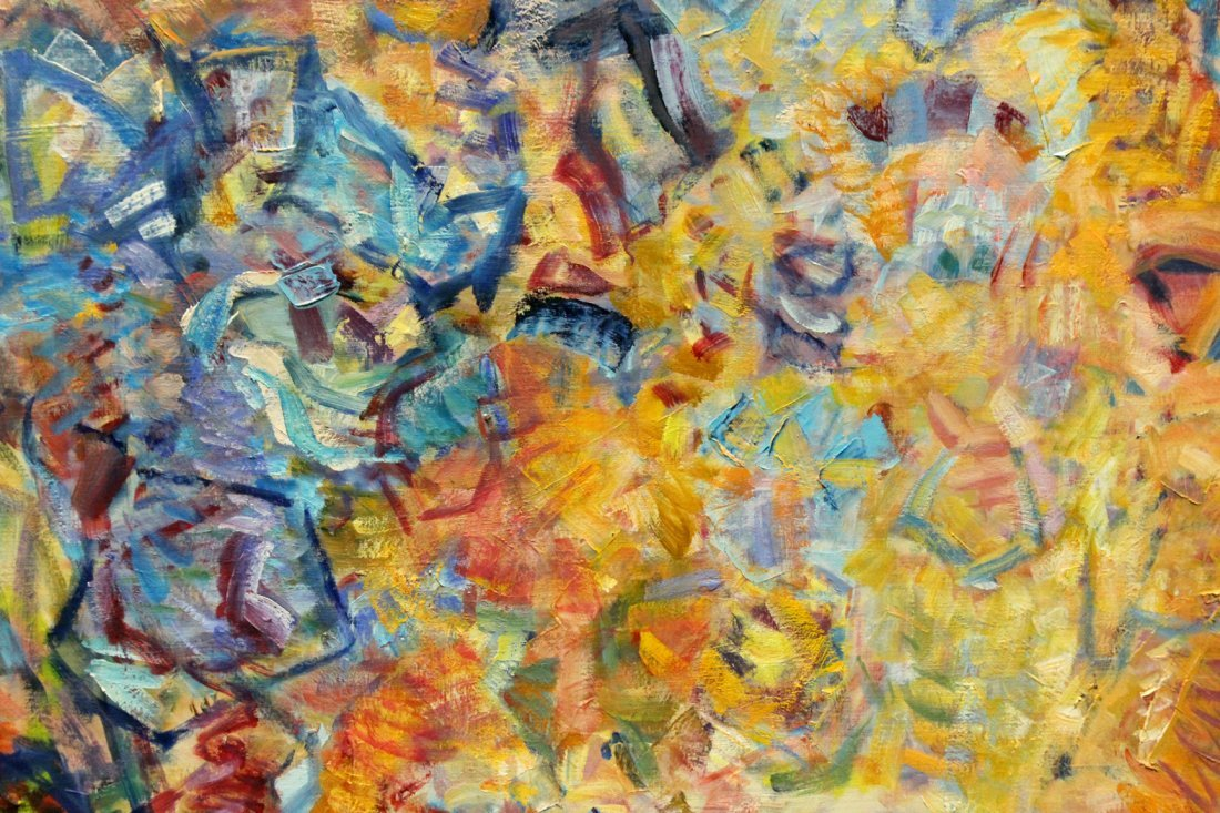 Kerstetter abstract painting on canvas - 3