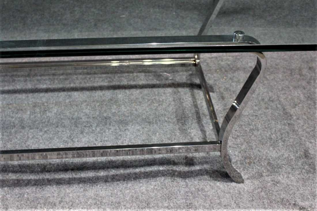 MILO BAUGHMAN style Flat Bar COFFEE TABLE - 3
