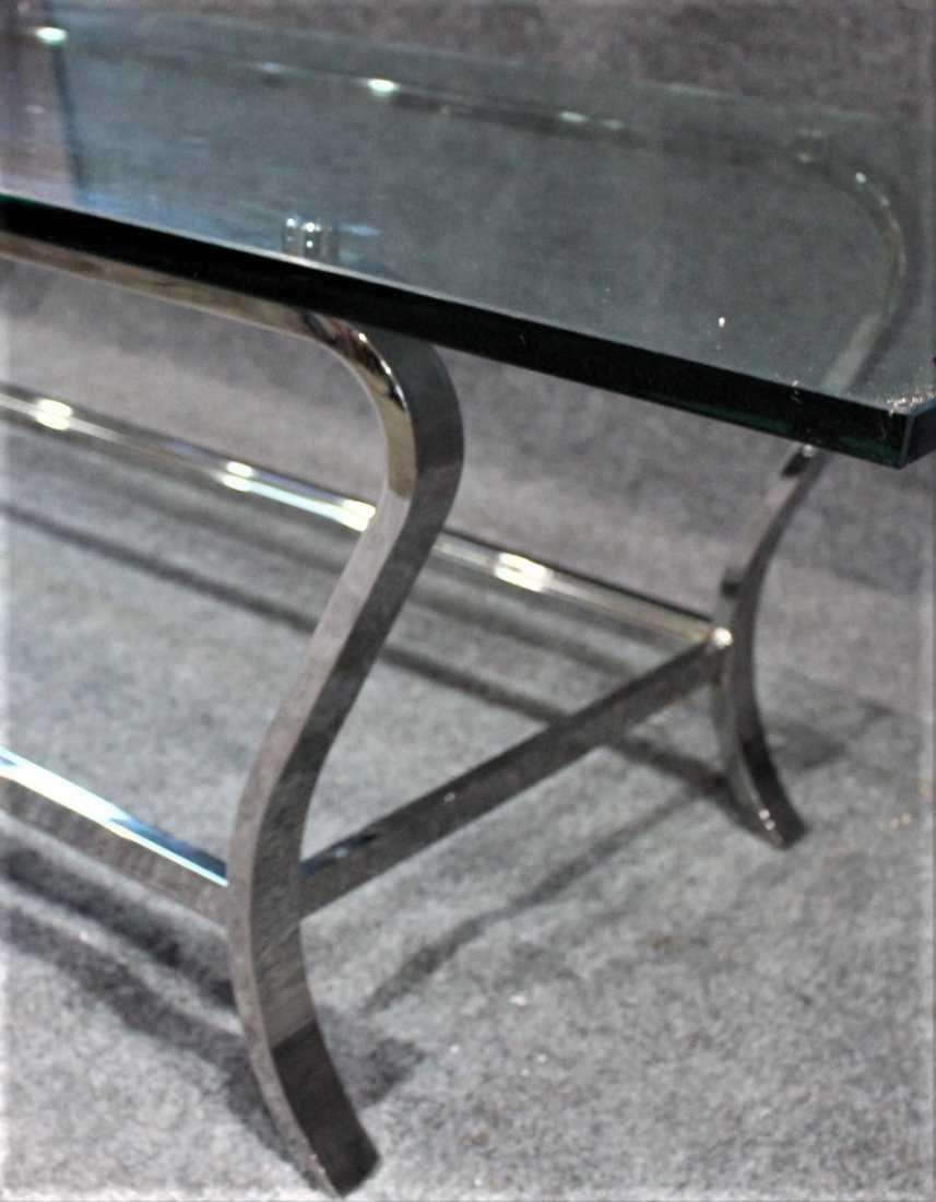 MILO BAUGHMAN style Flat Bar COFFEE TABLE - 4