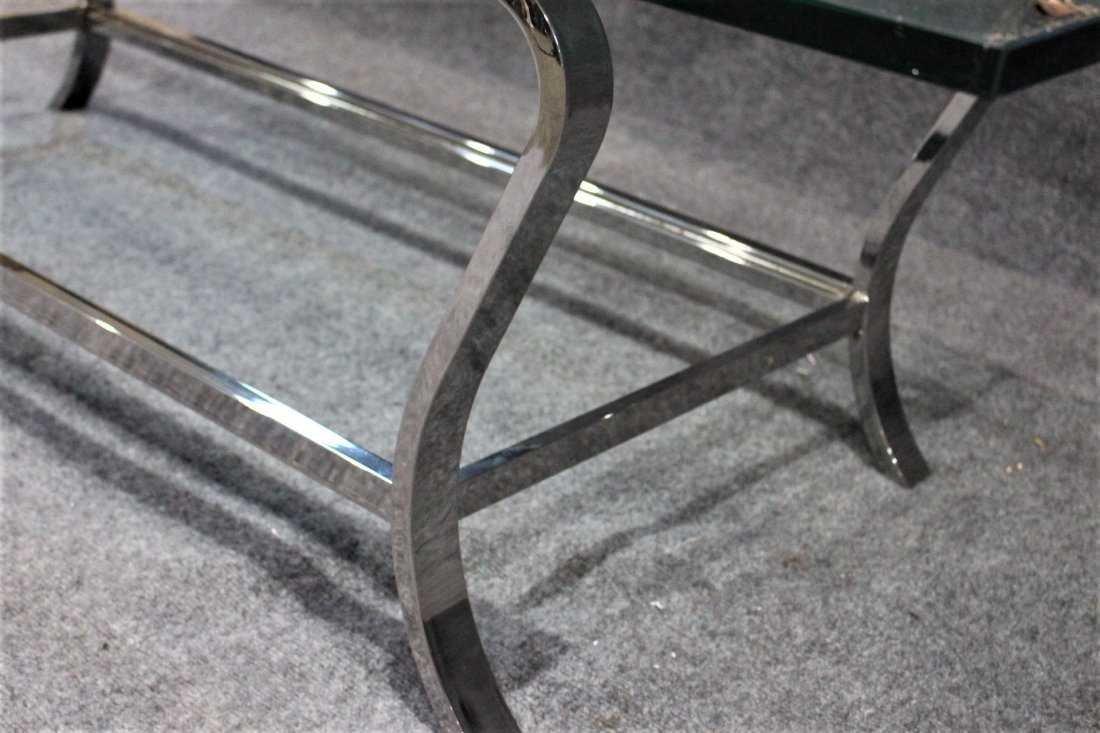 MILO BAUGHMAN style Flat Bar COFFEE TABLE - 5