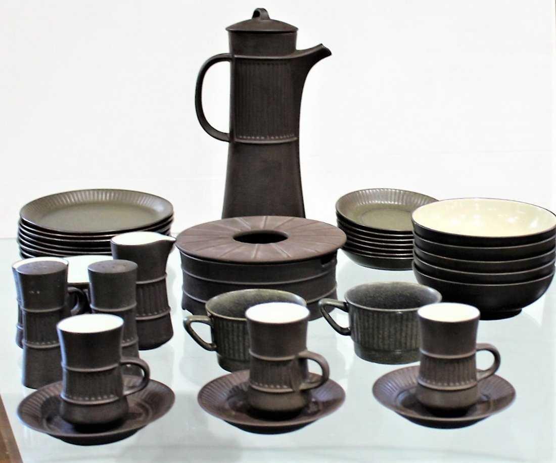 35 Pieces Mid-Century Modern DANISH POTTERY SET