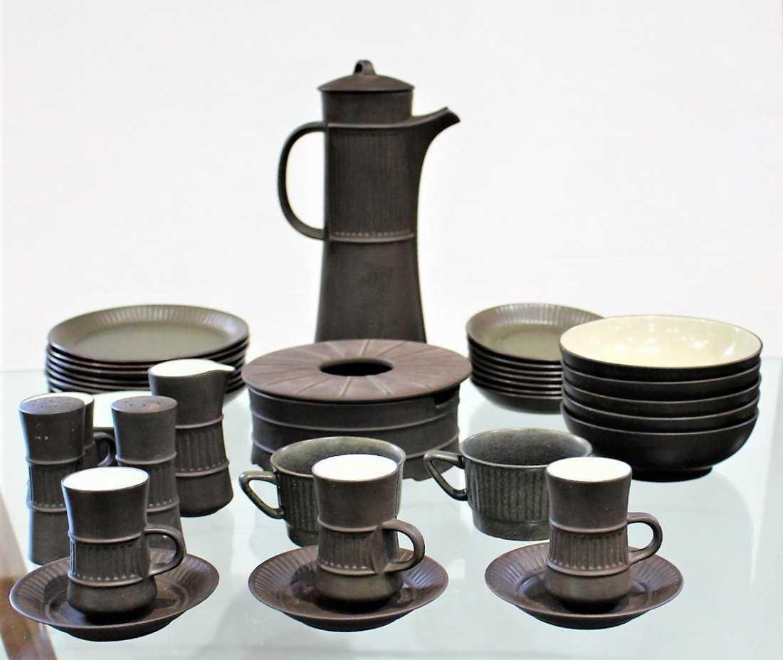 35 Pieces Mid-Century Modern DANISH POTTERY SET - 2