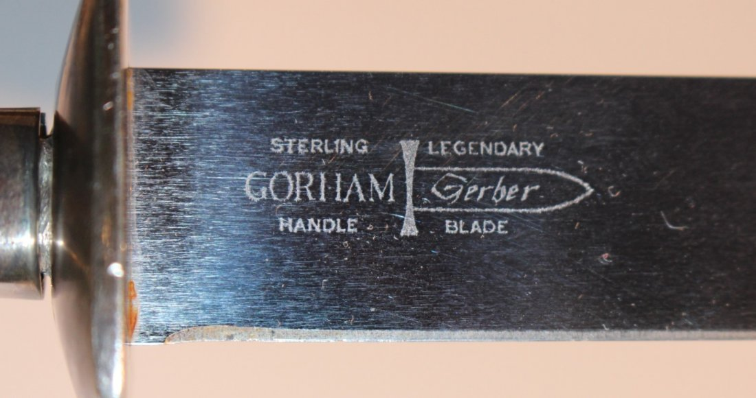 GORHAM STERLING 2-piece CARVING SET in original box - 6
