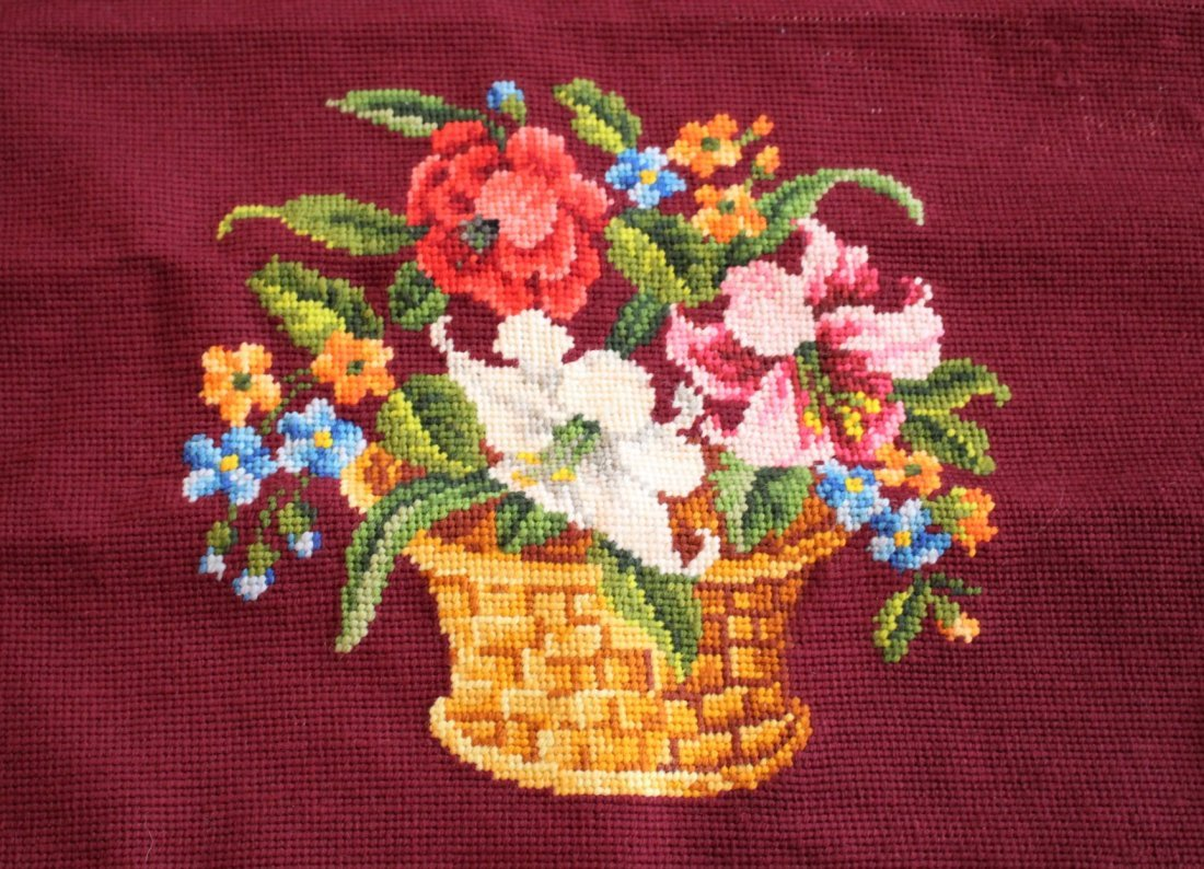 17 Pieces Assorted EMBROIDERY & NEEDLEPOINT - 5