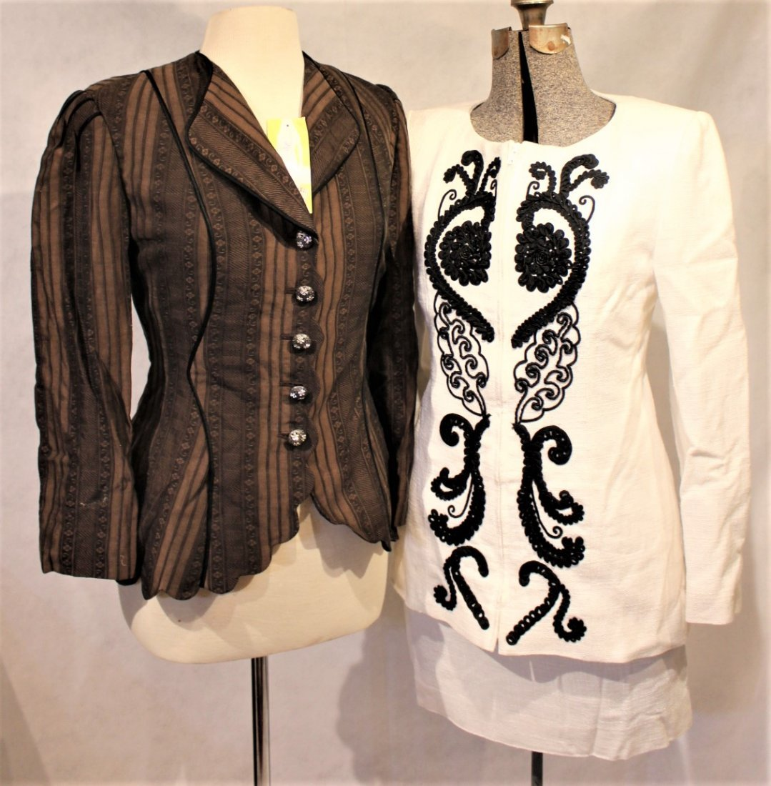 Two [2] CHRISTIAN LACROIX, ZELDA New With Tags Jackets