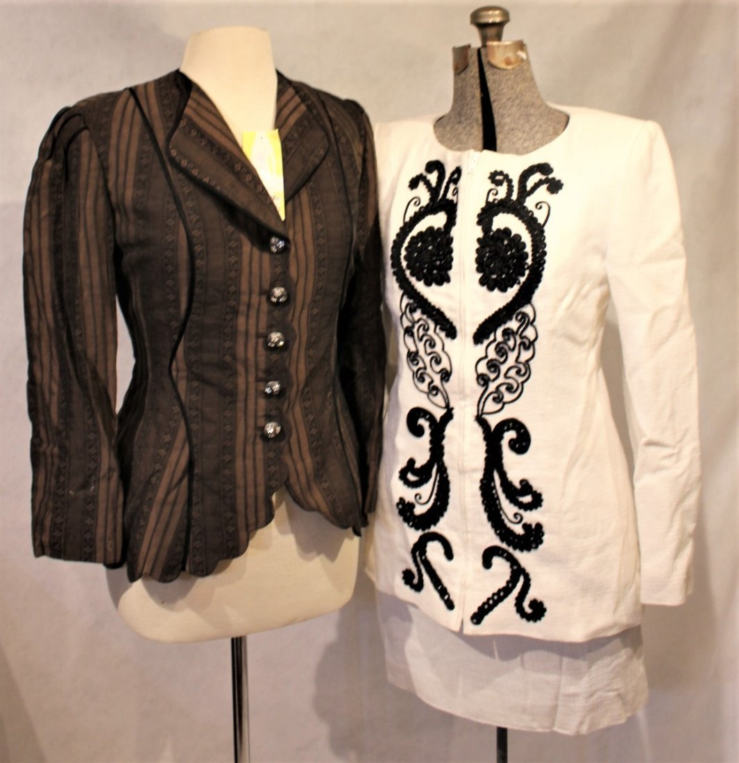 Two [2] CHRISTIAN LACROIX, ZELDA New With Tags Jackets - 2