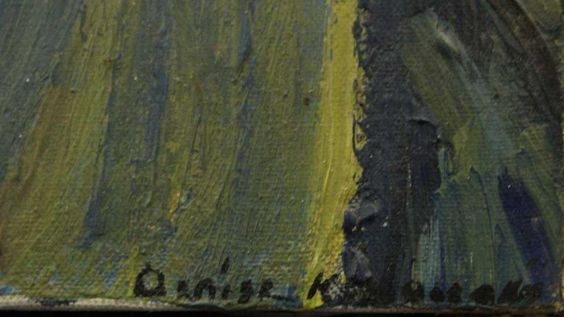 Portrait of VAN GOGH The Artist By Denise Kandiliakes - 2