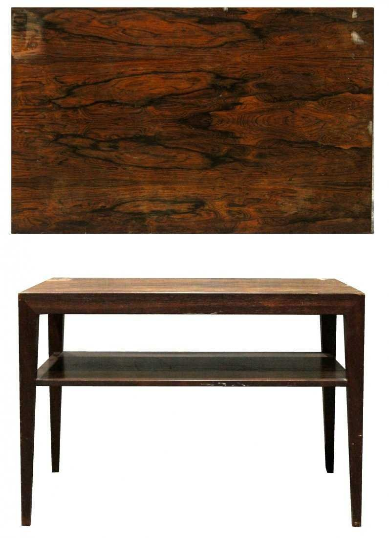 Mid-Century DANISH MODERN ROSEWOOD OCCASIONAL STAND