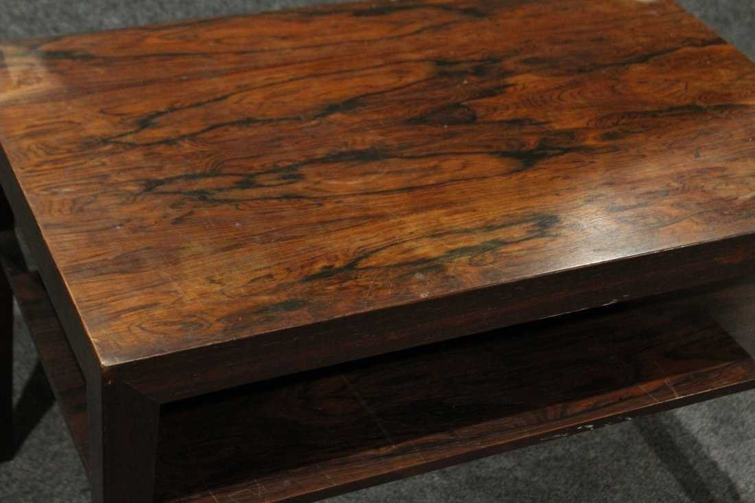 Mid-Century DANISH MODERN ROSEWOOD OCCASIONAL STAND - 2