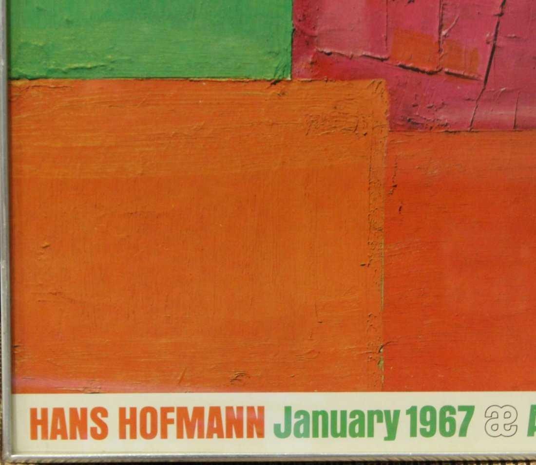 Vintage Hans Hoffman exhibition poster - 2