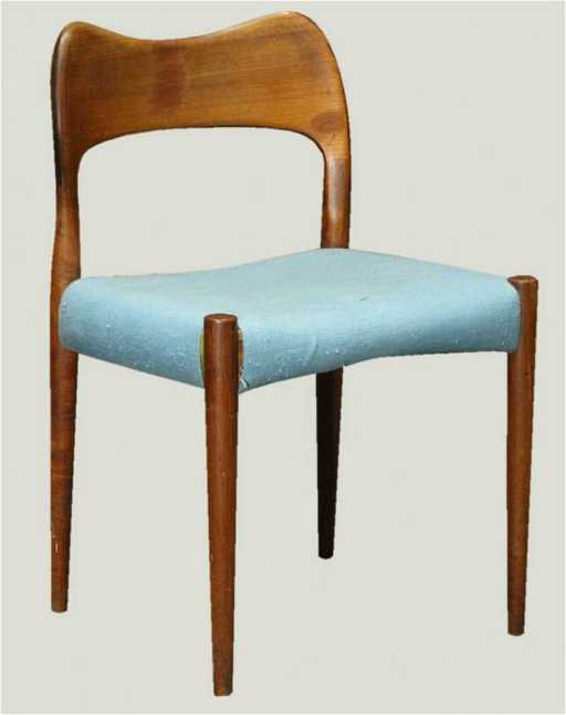 Mid Century Modern Danish Design Teak Chair