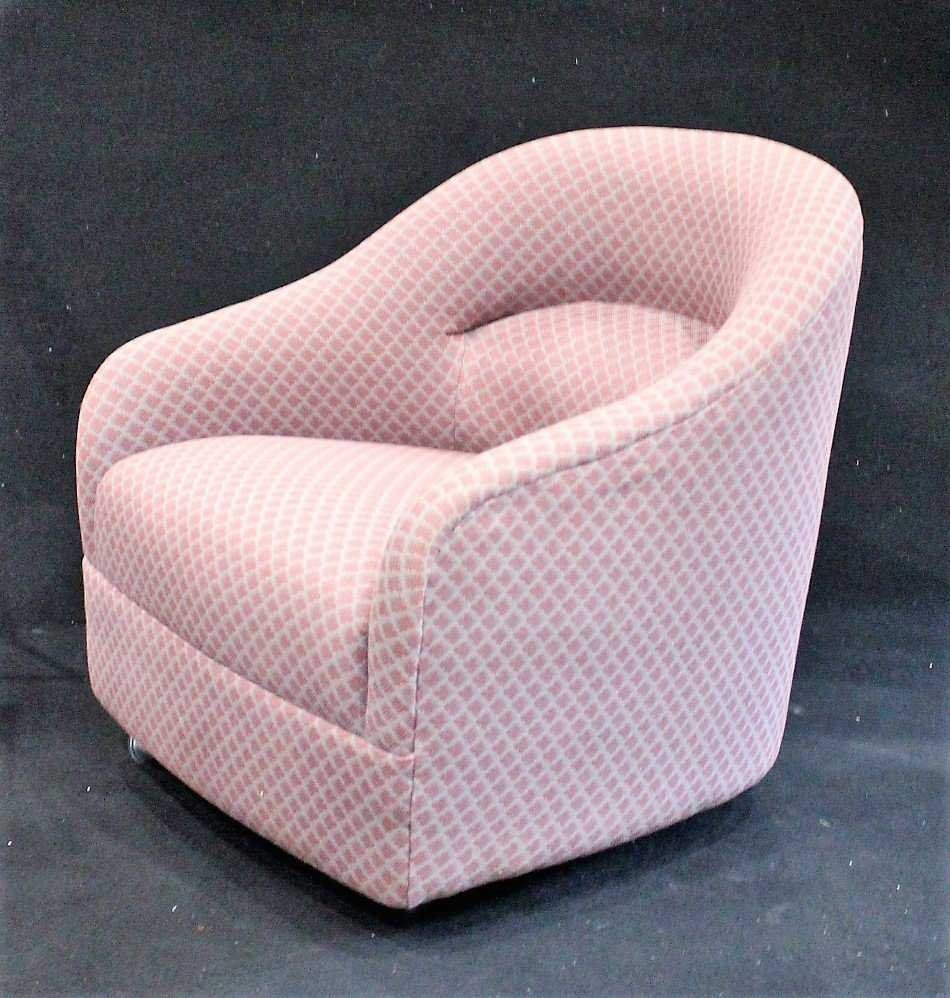 THAYER COGGIN Style UPHOLSTERED TUB CHAIR - Clean