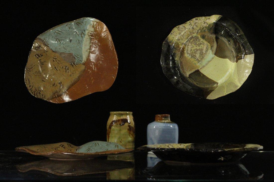 Estate Grouping of Mid-Century Art Pottery / Stoneware