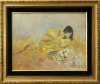 "RUTH MCKEE 1929-2012, Pa Artist ""QUIET TIME"" Oil/B"