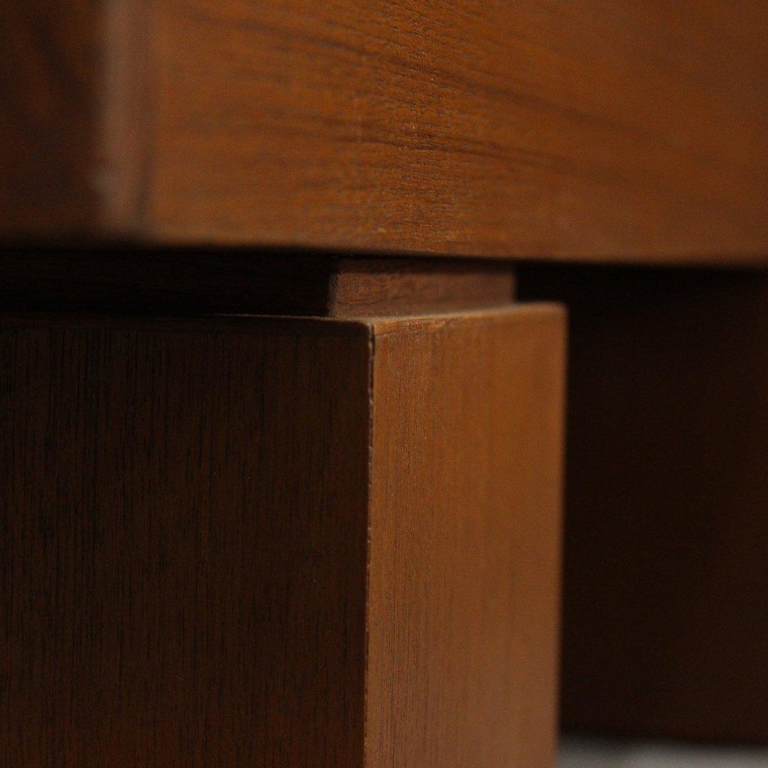 Mid-Century Modern Teak Bench / Stand, Fine Quality - 4