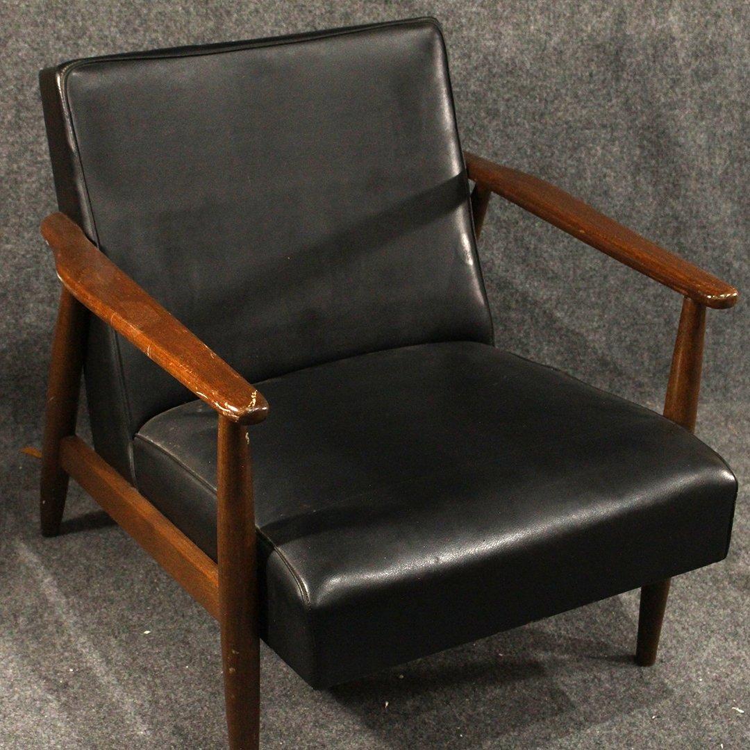 Two [2] Mid-Century Danish Design Lounge Arm Chairs - 2
