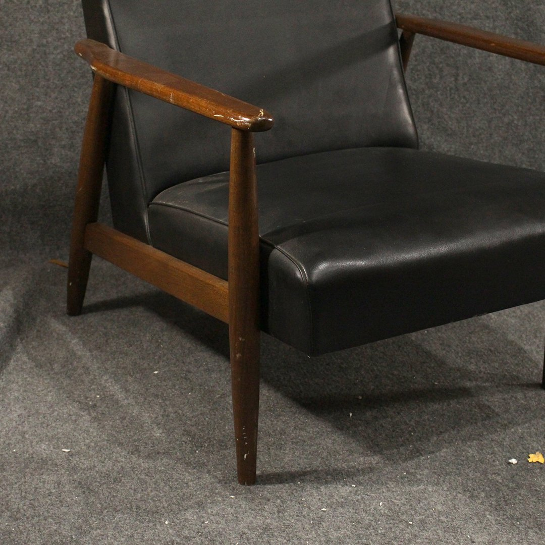 Two [2] Mid-Century Danish Design Lounge Arm Chairs - 3