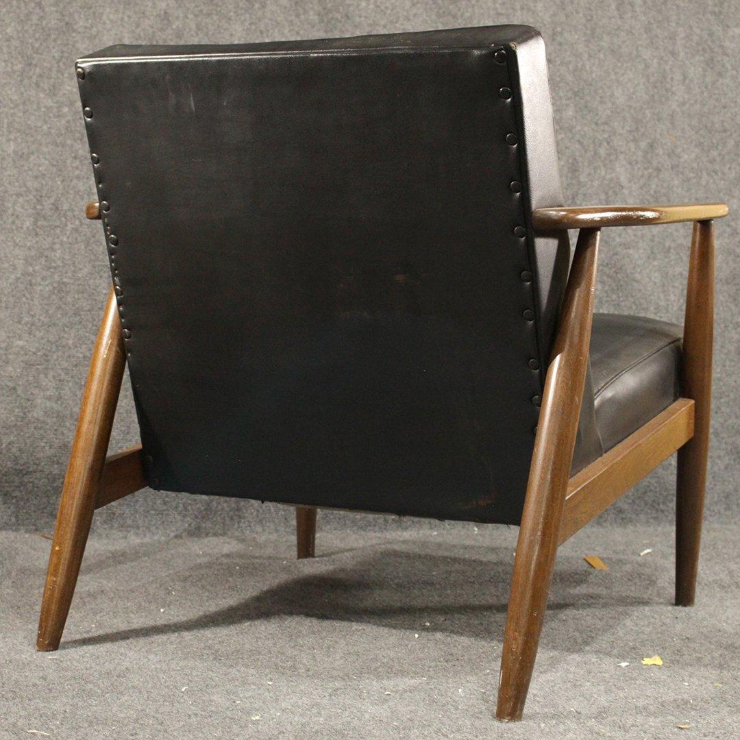 Two [2] Mid-Century Danish Design Lounge Arm Chairs - 4