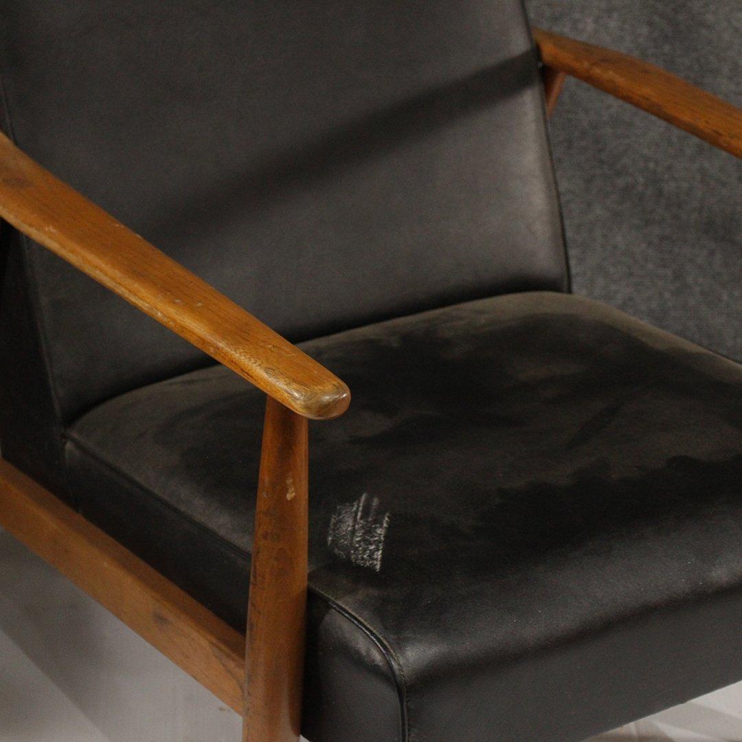 Two [2] Mid-Century Danish Design Lounge Arm Chairs - 6